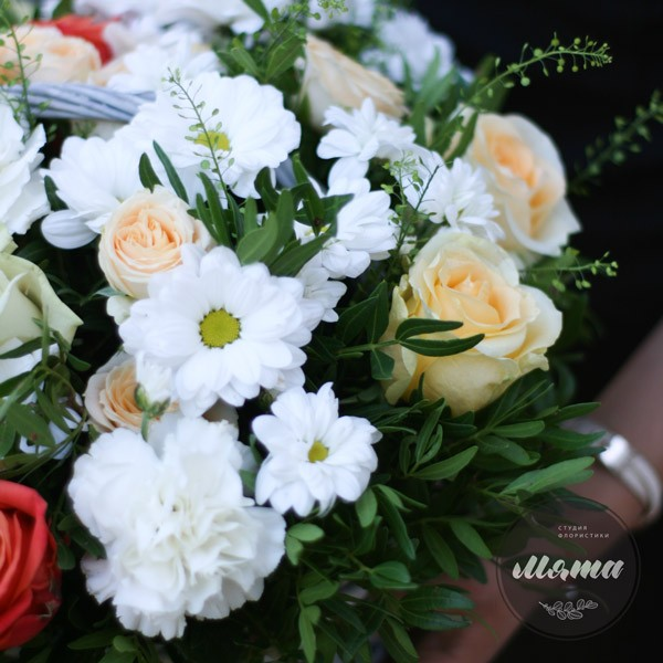 Корзнка с цветами Прованс